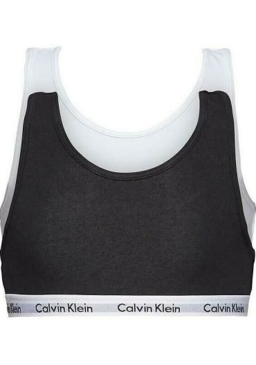 Two pack calvin klein in black and white