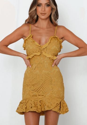 Mustard Dress.4