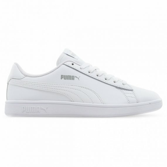Puma Women's White Sneakers with Puma Logo